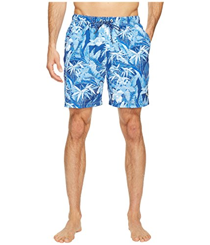 Tommy Bahama Men's Naples Oasis Blooms Swim Trunk Old Royal Small