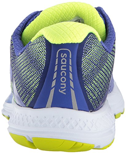 Saucony Ride 10, Scarpe Running Donna Viola (Purple/Blue/Citron)