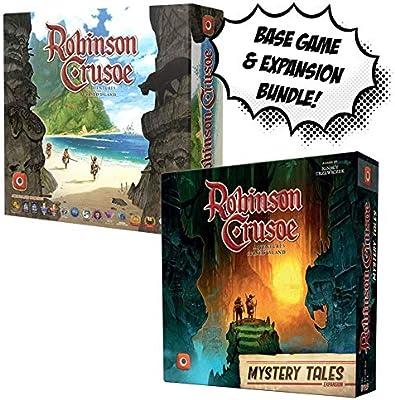 Robinson Crusoe Base Juego + Robinson Crusoe: Mystery Tales! Juego Bundle!: Amazon.es: Juguetes y juegos
