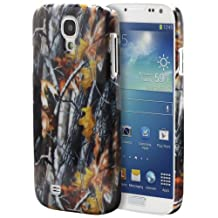 Fosmon SLIM Series Design Crystal Back Cover Case for Samsung Galaxy S4 S IV GT-I9500 - Fosmon Retail Packaging (Camouflage Wood)