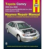 Toyota, Camry, Avalon & Lexus ES300/330 & Solara: 2002-2008 (Haynes Repair Manual (Paperback)) (Paperback) - Common