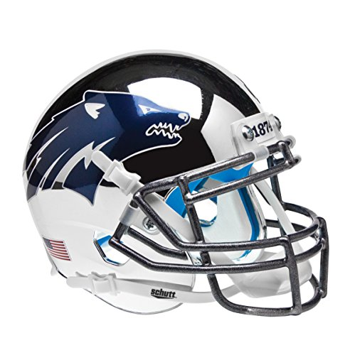 NCAA Nevada Wolfpack Battle Born Mini Helmet, One Size, White