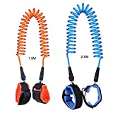 2 Pack Anti Lost Wrist Link Safety Harness Velcro Wristband Child Leash for Toddler, Baby and Kids by RexRod