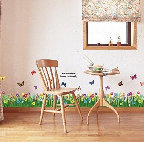 icarekit-TM-Grass-Floral-Ladybug-Vinyl-Removable-DIY-Kid-Room-Decor-Wall-Sticker-Decal-Mural