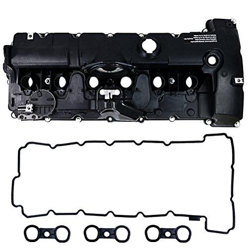 Price comparison product image H&G Bro Engine Valve Cover with Gasket for BMW E82 E90 E70 Z4 X3 X5 128i 328i 528i N52 11127552281