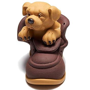 Artesanías para perros Té decoración para mascotas Arena púrpura ...