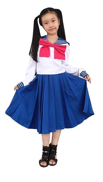 66af69c8ddf3a Amazon.com: DAZCOS Kids Girls Crystal Tsukino Usagi Mercury School ...