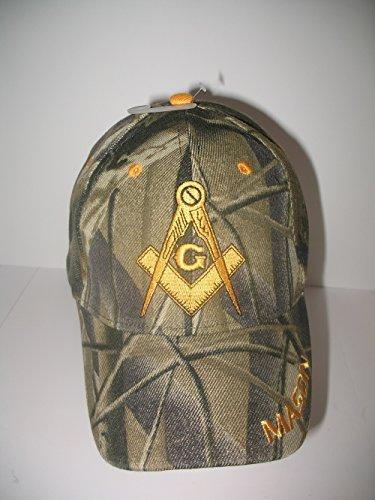 Masonic Baseball Hat - Freemason Embroidered Adjustable Hat Mason Masonic Lodge Baseball Cap