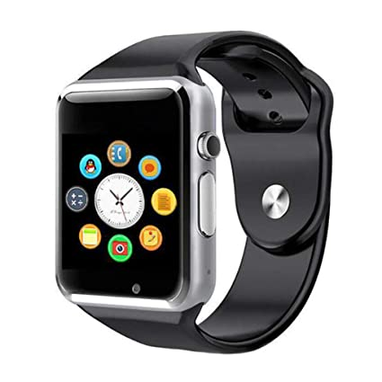 JingJingQi Reloj Inteligente Smart Watch A1 con Pasómetro ...