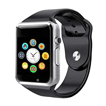 JingJingQi Reloj Inteligente Smart Watch A1 con Pasómetro ...