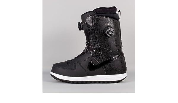 2f0f488265a68 Amazon.com   Nike Zoom Force 1 X Boa Snowboard Boot Black Black-White Size  11   Sports   Outdoors