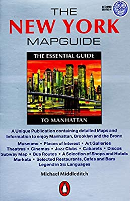 New York City Subway Map January 2001.The New York Mapguide Michael Middleditch 9780140294590 Amazon