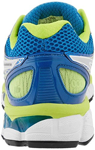 Asics Mens Gel Nimbus 16 Pattino Corrente Isola Blu / Fulmini / Calce
