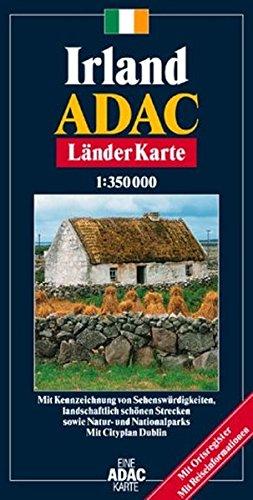 ADAC Karte, Irland (ADAC Länderkarten)