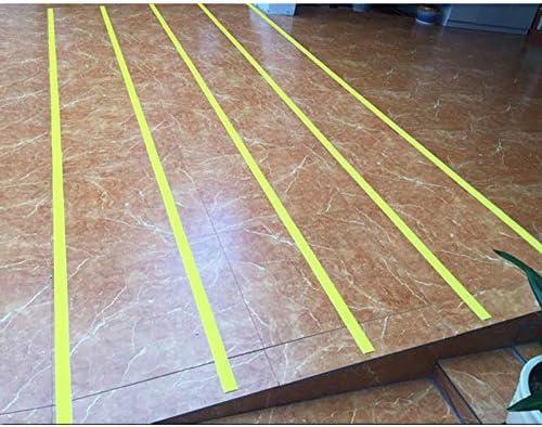 ZEYUE 10 Metros Tira Antideslizante Para Escaleras, Cinturón Antideslizante Para Escaleras Autoadhesivo, Adecuado Para Cinturón Resbaladizo Sobre Suelo Liso. (Amarillo anaranjado): Amazon.es: Bricolaje y herramientas