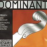 Thomastik Dominant 4/4 Cello D String Medium Chromesteel-Perlon