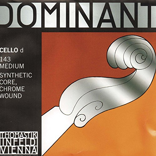 Thomastik Dominant 4/4 Cello D String Medium Chromesteel-Perlon from Thomastik
