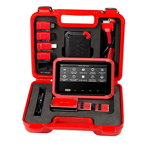 Xtool X100 PAD Code Reader Special Fuctions Updated Online Diagnostic Tool  Key Programmer Function as X300 Plus with Free 4pcs Trim Tool