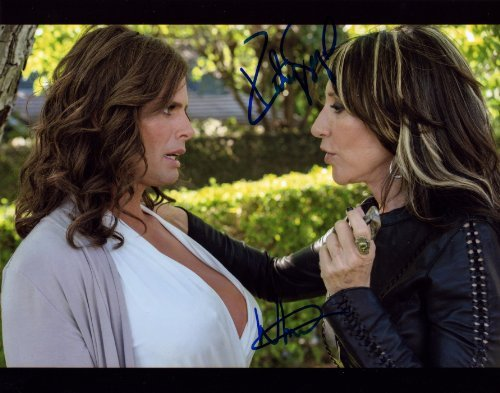 KATEY SAGAL AND WALTON GOGGINS IN-PERSON AUTOGRAPH PHOTO SONS OF ANARCHY