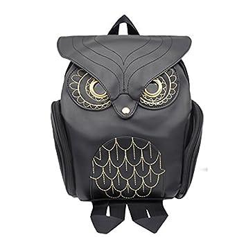 Amazon.com: Mini Owl Backpack for Women Girls PU Leather Owl ...