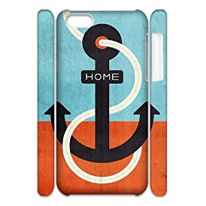 ALICASE Design Diy hard Case Anchor For Iphone 4/4s [Pattern-1]