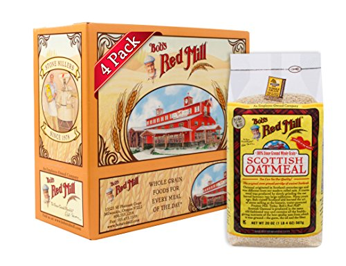 Bob's Red Mill Scottish Oatmeal, 20 Oz (4 Pack) (Best Kind Of Oatmeal)