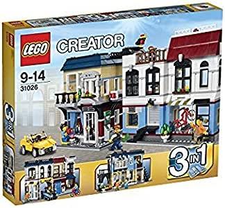 Lego Creator - Tienda de Bicicletas y cafetería, Juego de ...