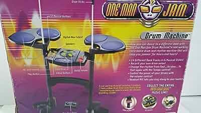 one man jam drum machine video games. Black Bedroom Furniture Sets. Home Design Ideas