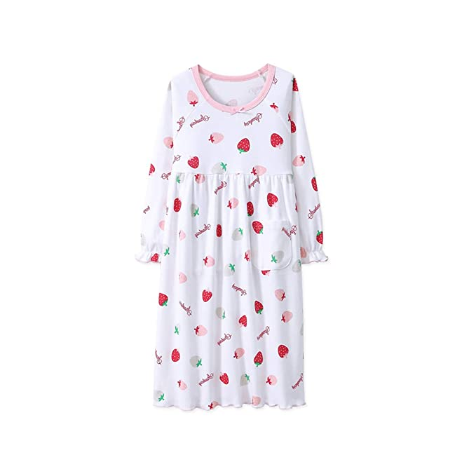 Amazon.com: MUKATU - Vestido de dormir de manga larga para ...