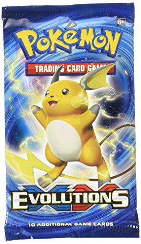 Pokemon Sleeved Booster XY Evolution PTC. XY Evolution