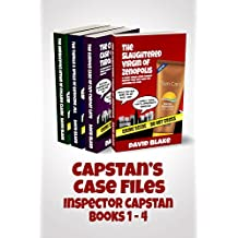 Capstan's Case Files: A funny urban crime comedy series that will have you laughing out loud (Inspector Capstan books 1-4)