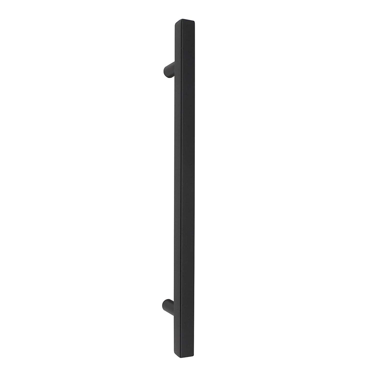 64mm Probrico Cabinet Handles-Pack of 10 Black 2-1//2inch Overall Length:2inch 50mm Hole Centers Square T Bar Kitchen Cabinet Handles Drawer Pulls for Kitchen Furniture Hardware