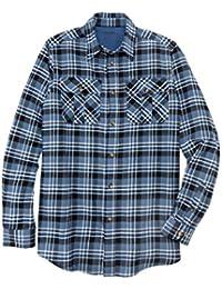 Men's Big & Tall Plaid Flannel Shirt
