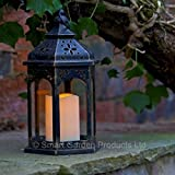 Smart Garden Battery Moroccan Lantern Candle