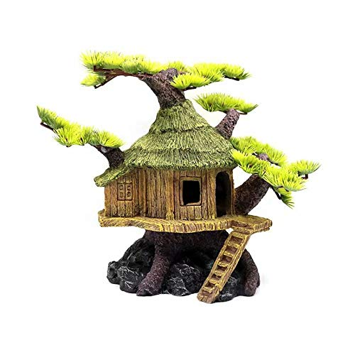 20.5x15.5x22cm Aquarium Decoration Rockery Welcoming Pine Water Grass Aquarium Landscaping Simulation Tree Root Sinking Wood Ornaments
