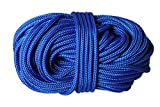 "3/16"" (4.5mm) Rhythm Traders Djembe Rope 100 feet - Blue"