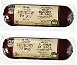 #8: Hickory Farms Beef Summer Sausage 10 Ounce (Pack of 2)