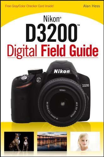 Nikon D3200 Digital Field Guide, used for sale  Delivered anywhere in USA