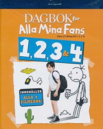 Amazon Com Diary Of A Wimpy Kid 1 4 4 Disc Set Diary Of A Wimpy Kid Diary Of A Wimpy Kid Rodrick Rules Diary Of A Wimpy Kid Dog Days