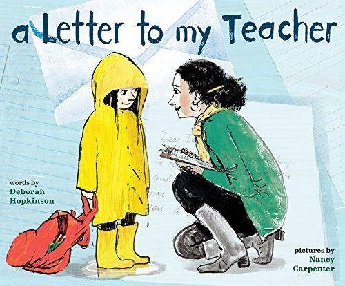 A Letter to My Teacher by [Hopkinson, Deborah]