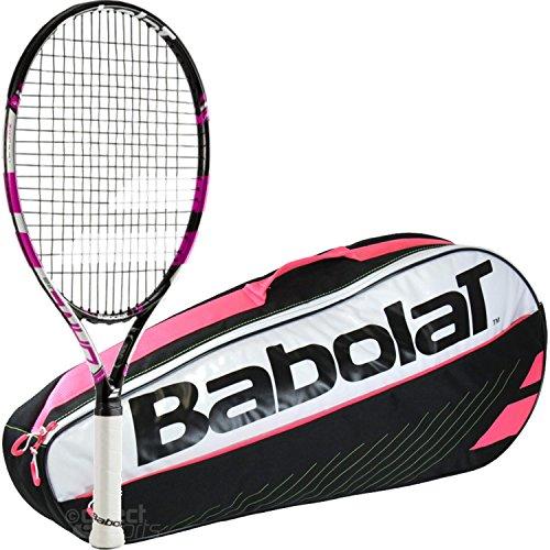 Babolat Pure Drive 25 Inch Junior Tennis Racquet (Pink/Bl...
