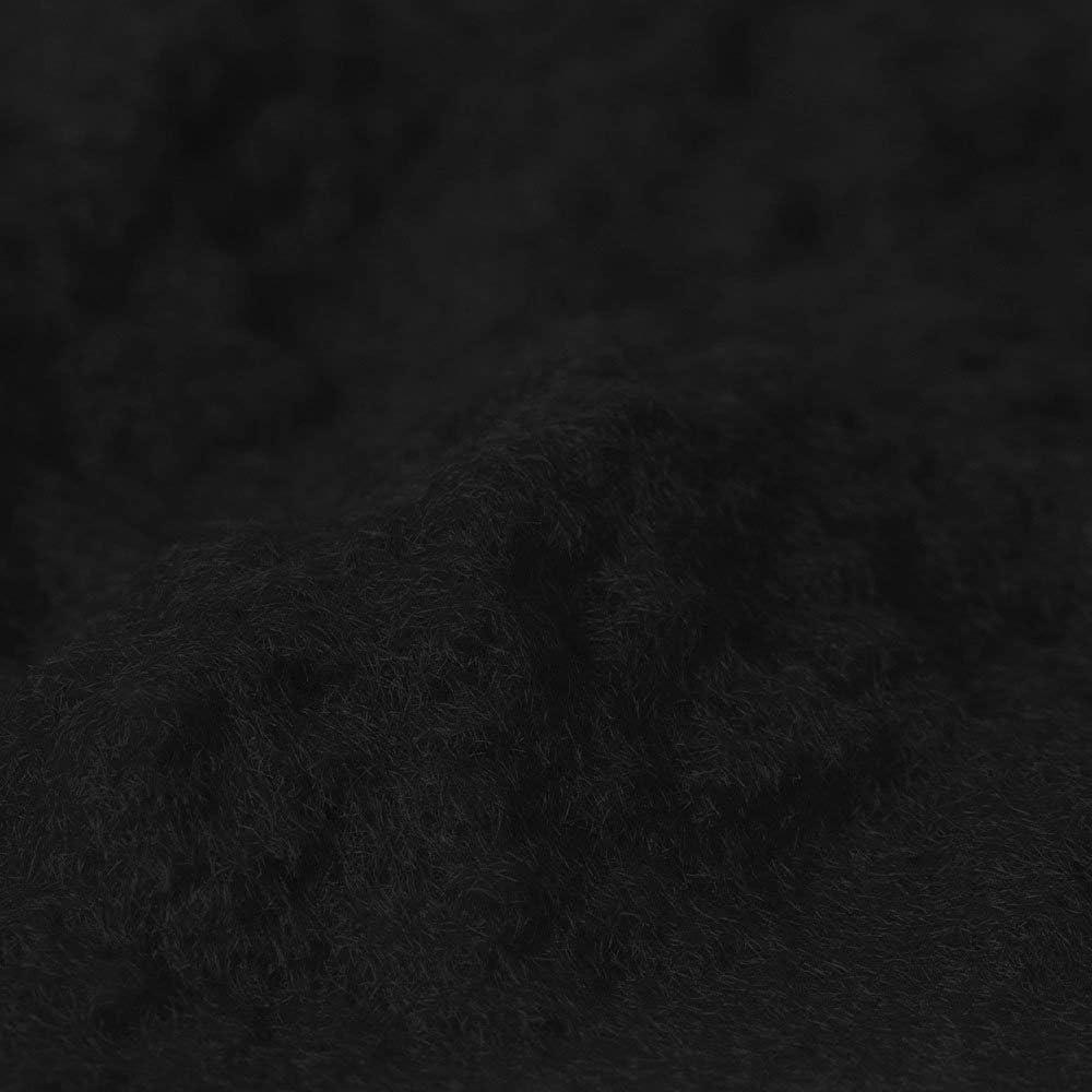 Donjer Suede-Tex Flocking Fiber, 3 oz Bag, Black (Nylon)