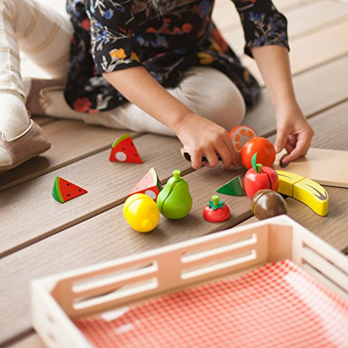 Fruit Fresh Slices - Fat Brain Toys Cutting Fruit - Orchard Fresh Cutting Fruit