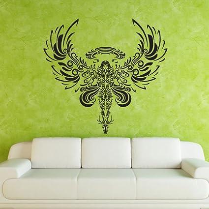 amazon com wall decal decor decals art angel flight wings story