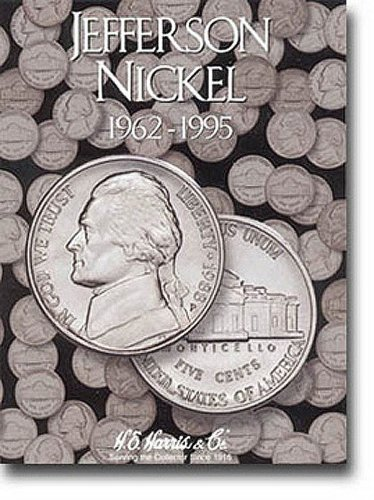 Jefferson Nickels Folder 1962-1995