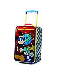 American Tourister Disney Boys Softside Upright 18-Inch, Mickey Mouse, International Carry-On