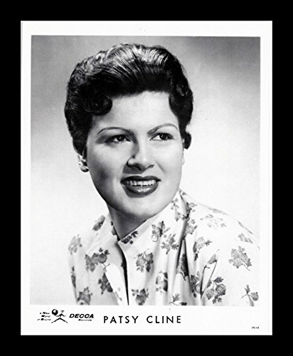 8 x 10 All Wood Framed Photo Patsy Cline