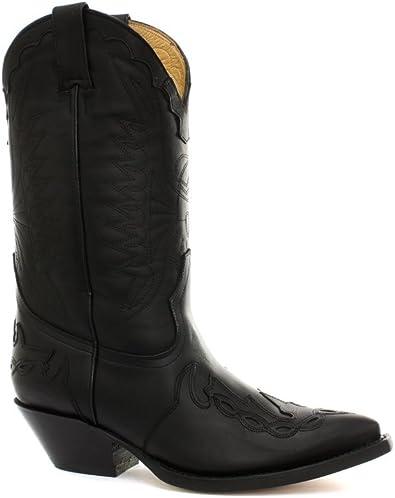 Black Mens Cowboy Boots