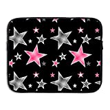 Best Case star Pink Laptops - Grey And Pink Stars Water Repellent Laptop Case Review