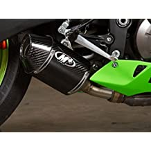 M4 Kawasaki ZX-6R / 636 13-16 Carbon Street Slayer Slip On Exhaust KA6944